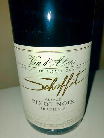 SCHOFFIT Pinot Noir Tradition 2014 13%